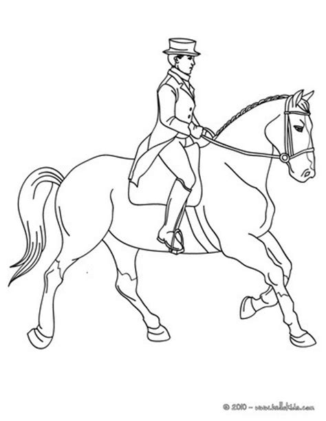 horse trainer coloring page woman training a horse coloring pages hellokids com