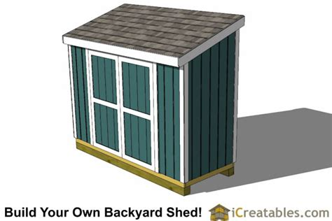 lean  shed plans outdoor garden shed small shed