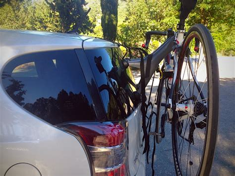 Saris Single Bike Rack by Saris Bike Rack And The Toyota Iq The Dafacto