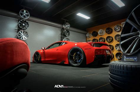 ferrari 458 custom track hungry ferrari 458 speciale puts on matte black