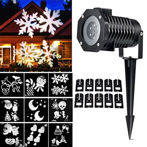 halloween christmas holiday projector light show christmas light projector ucharge rotating night light