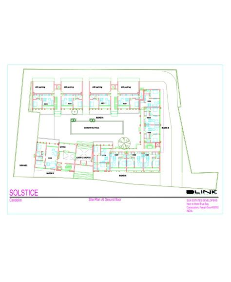 Solstice Floor Plan by Candolim Apartments For Sale In Goa Buy Luxury Apartment