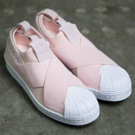 Adidas Slip On Baby Pink adidas superstar pink slip on herbusinessuk co uk