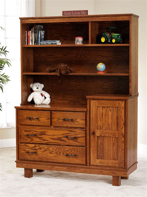 changing table with hutch saratoga changing table dresser countryside amish furniture