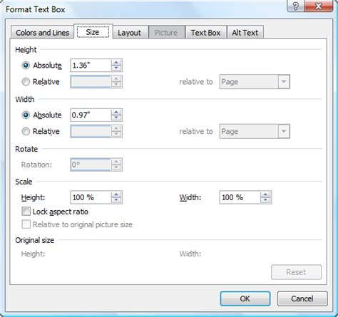 layout dialog box word 2010 text box changing orientation of a text box microsoft word