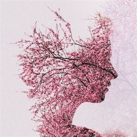 double exposure tutorial flowers double exposure portraits by sara k byrne inspiration now