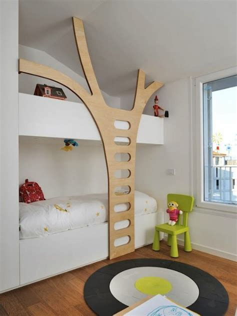 awesome bunk beds 26 cool and functional built in bunk beds for kids digsdigs