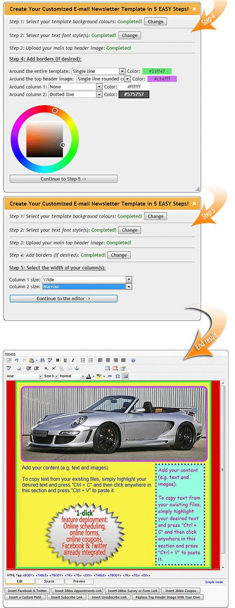 newsletter layout software newsletter design software