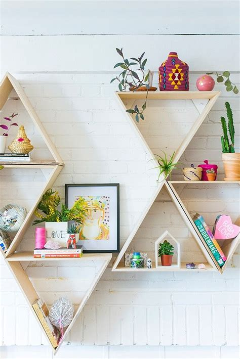 cara membuat rak buku dengan autocad best 25 triangle shelf ideas on pinterest