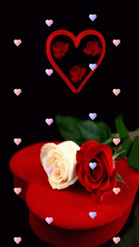 imagenes animadas good night imagenes animadas de rosas con corazones