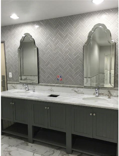 Buy Dove Gray 3x6 Glazed Handcrafted   Subway Tile