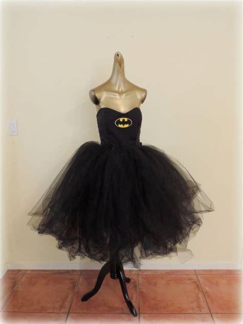 Handmade Batman Costume - batwomen costume tutu dress black tutu handmade