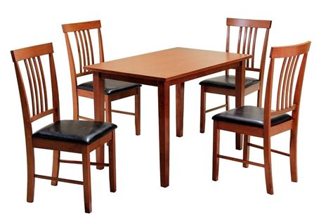 small mahogany dining table and chairs mahogany wooden dining table and 4 chairs homegenies