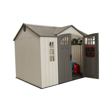 Lifetime 10x8 Shed by 60106 71 25 Square Ft 494 5 Cubic Ft The Lifetime