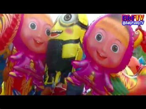 balon karakter tiup upin ipin balon karakter mainan balon boboiboy masha doraemon
