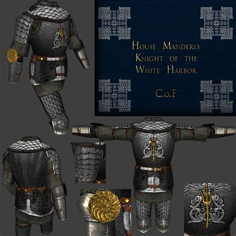 house manderly knight armor house manderly image a game of thrones wb mod for mount blade