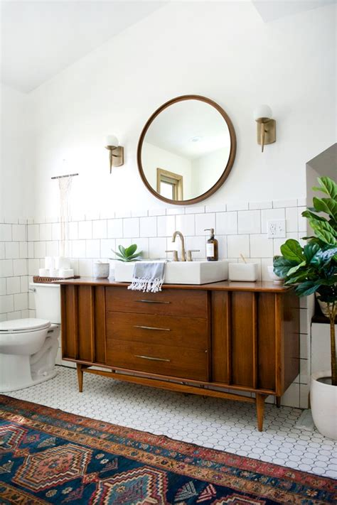 midcentury modern bathroom 12 midcentury modern bathroom ideas hunker