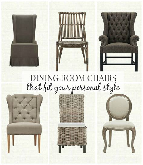 Farm Style Dining Chairs Dining Room Chairs That Fit Your Personal Style City Farmhouse