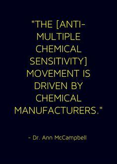 Chemical Sensitivity Detox by The Chemicals Used In Scented Products Can Make Some