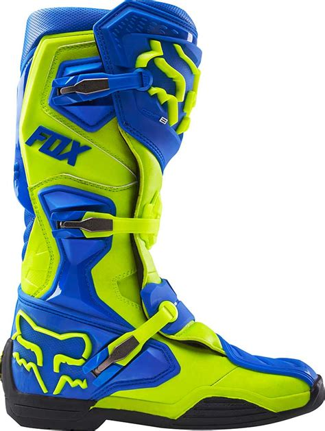 mx motorbike boots 2016 fox racing comp 8 boots motocross dirtbike mx atv