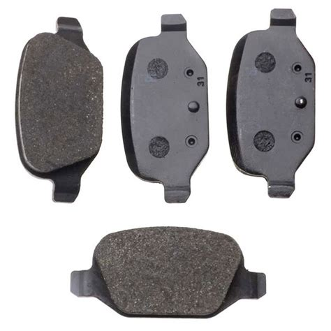 fiat panda brake pads fiat panda brembo rear brake pads set lucas braking system