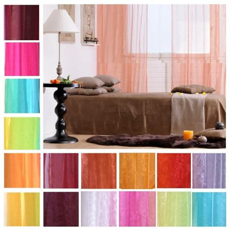 Rideau 140x160 by Tab Top Organza Voile Curtain 8 50 Hd Home Direct Limited