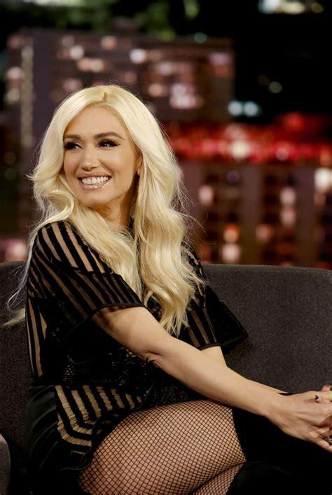 Gwen Stefani On Jimmy Kimmel by Gwen Stefani At Jimmy Kimmel Live In Los Angeles