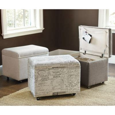Hanging File Storage Ottoman File Storage Ottoman Ballard Designs For The Home Pinterest