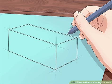 How To Make A Rectangular Prism With Paper - how to make a rectangular prism with pictures wikihow