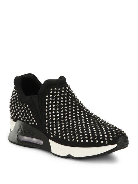 Studded Platform ash lunare studded platform sneakers in black lyst