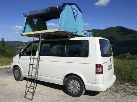 tenda da auto vw t5 overc tenda da tetto roof tent maggiolina