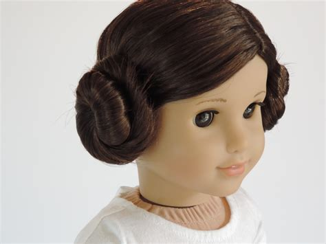 Hairstyles For Dolls by Reverie Dolls How To Do A Princess Leia Hairstyle On Your