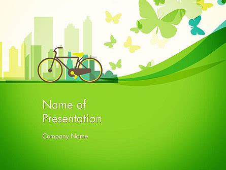 environment template caring for our environment powerpoint template