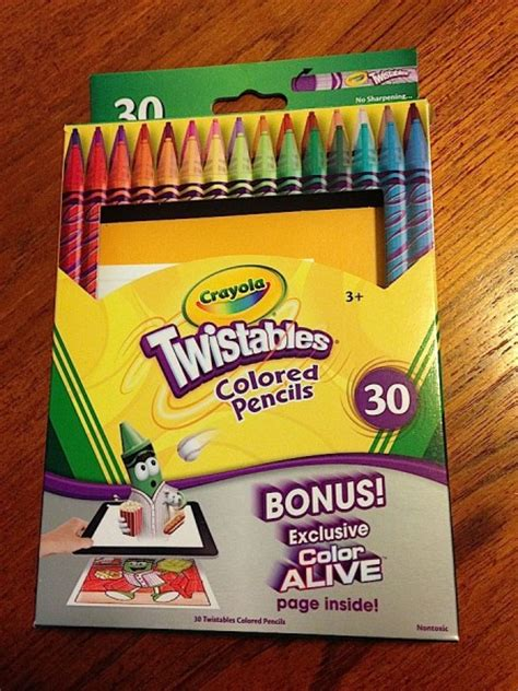 crayola 30 count twistable colored pencils me 187 grownup coloring