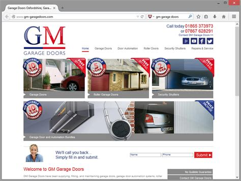 Garage Web Gm Garage Doors Website Design Immedia Creative Ltd