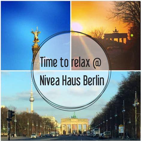 gutschein nivea haus time to relax nivea haus berlin eat