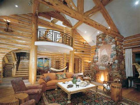 Log Home Interior Designs Decorations Log Cabin Room Decor With Fancy Log Cabin