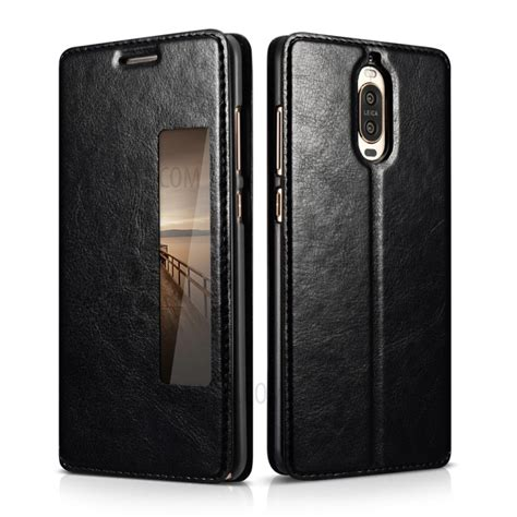 Transparan View Flip Cover Casing Pu Leather For Iphone 6 Iphone 6s xoomz view window leather smart flip cover for huawei mate