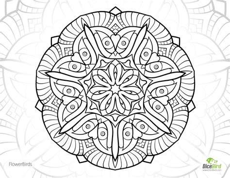 coloring pages for adults abstract flowers coloring pages flower birds free coloring book pages