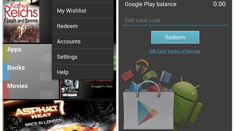 How To Add Google Play Gift Card - google play store to likely add gift cards wishlists