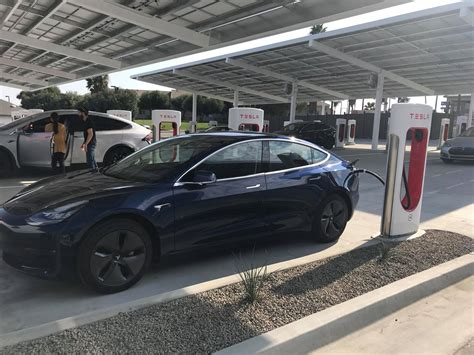 tesla supercharger stations  california edition photo specs