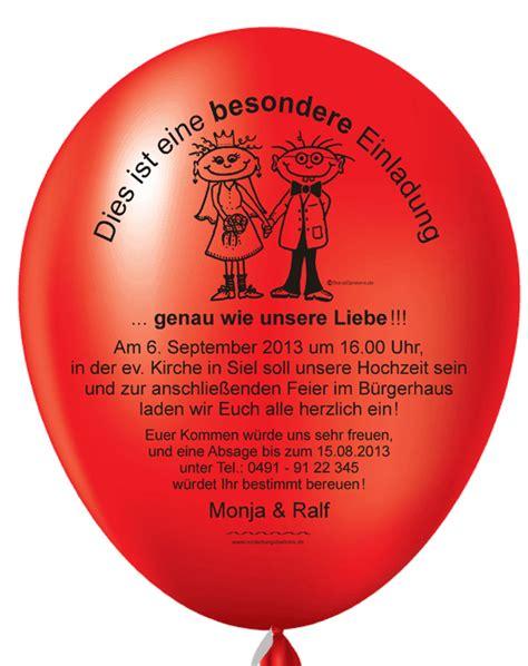 hochzeitseinladungskarten ausgefallen individuelle und originelle einladungen mit einladungsballons