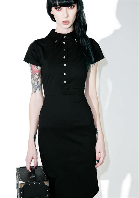 Dress Salem disturbia salem pencil dress dolls kill