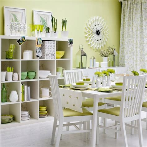 Green Dining Room Ideas by Zingy Green Dining Room Modern Dining Room Housetohome