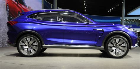 crossover cars 2018 roewe vision e concept previews 2018 crossover photos 1