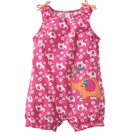 Romper Baby Cowo Jumping Beans Biru jumping beans baby romper elephant pink baby one pieces clothes toddler overalls s