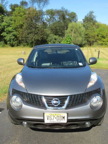 nissan juke grey interior purchase used 2013 nissan juke awd grey with