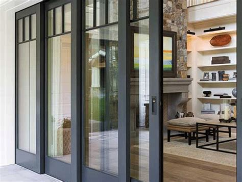 Multi Panel Sliding Glass Doors Blur The Line Between Indoors And Outdoors With Multipanel Patio Doors Glassonweb