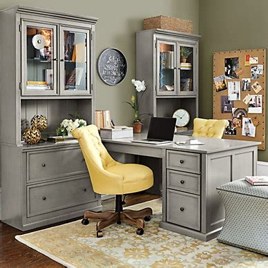 Modular Desk Furniture Home Office Modular Home Office Furniture Ballard Designs