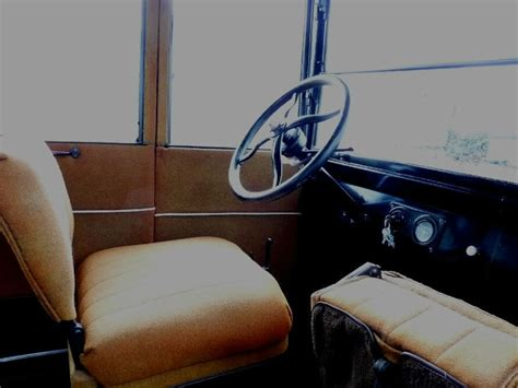 22 Interior Door Black Tan Cloth Interior 4 Cylinder 3 Speed Model T